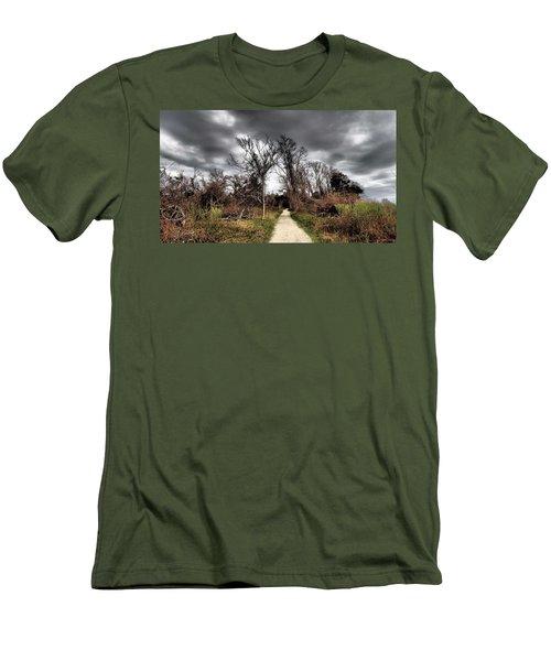 Dramatic Landscape At Elizabeth Morton Men's T-Shirt (Athletic Fit)