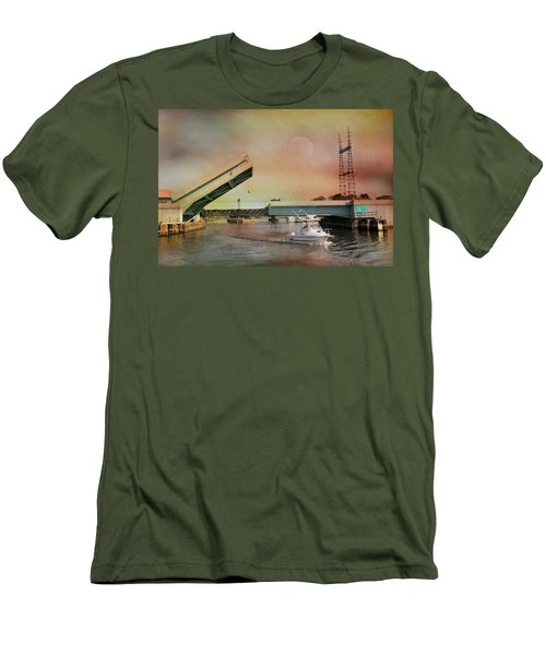 Draw Bridge Men's T-Shirt (Athletic Fit)