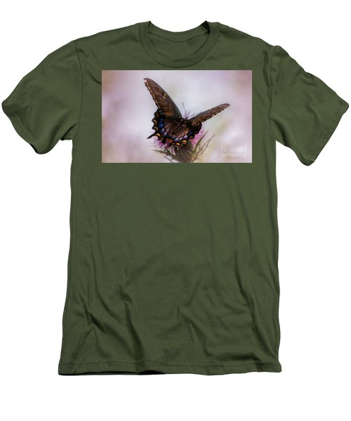 Dream Of A Butterfly Men's T-Shirt (Slim Fit) by Rima Biswas