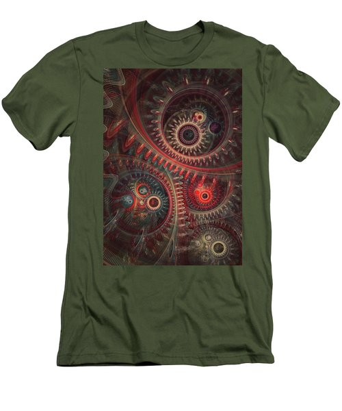 Dreaming Clocksmith Men's T-Shirt (Athletic Fit)