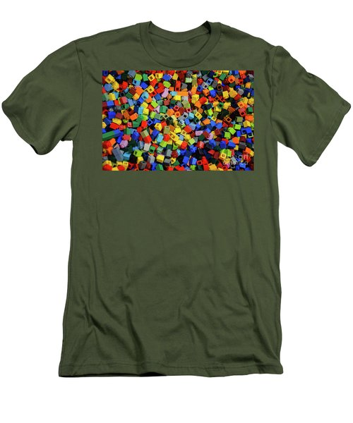 Dreaming In Legos  Men's T-Shirt (Athletic Fit)