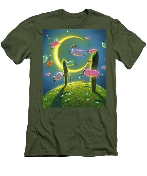 Dreamland II Men's T-Shirt (Athletic Fit)