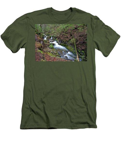 Dreamy Passage Men's T-Shirt (Athletic Fit)