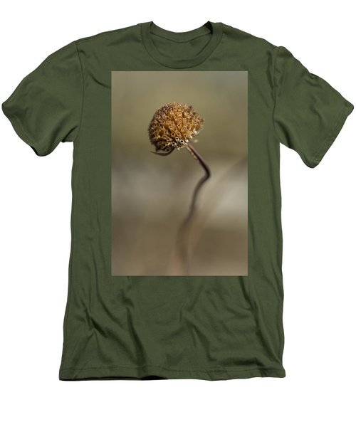 Dried Flower Close-up Men's T-Shirt (Athletic Fit)