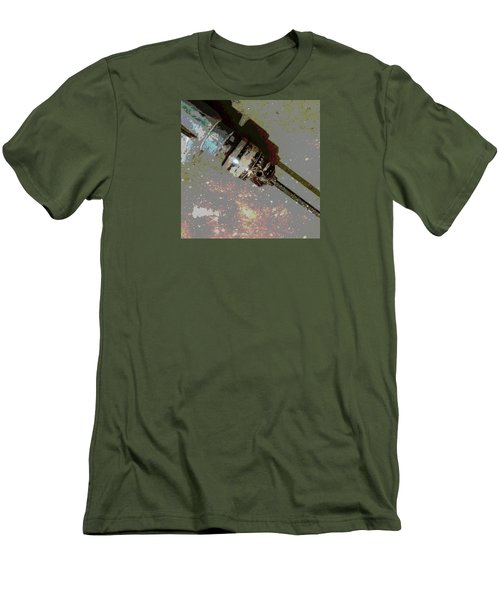 Drill Men's T-Shirt (Slim Fit) by Tetyana Kokhanets