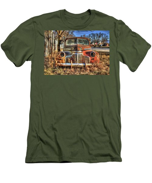 Driverless Car Men's T-Shirt (Athletic Fit)