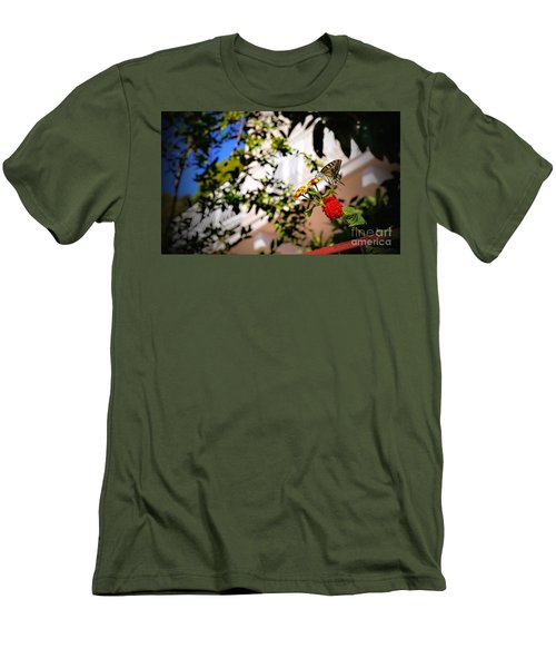Dubrovniks Butterfly Men's T-Shirt (Athletic Fit)