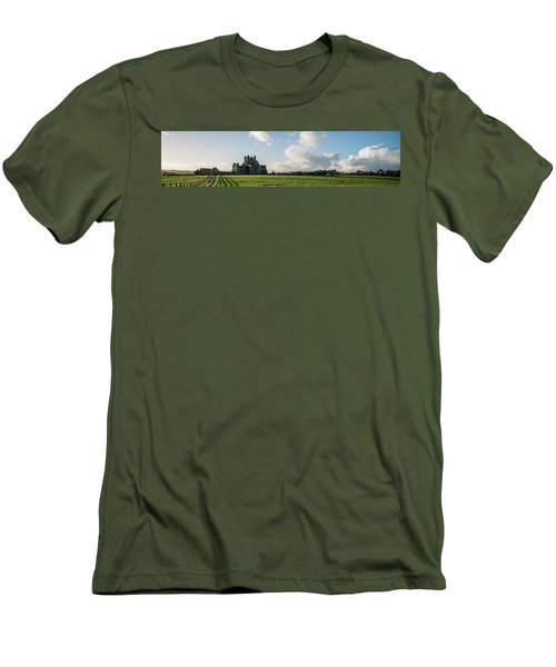 Dunbrody Abbey Men's T-Shirt (Slim Fit) by Martina Fagan