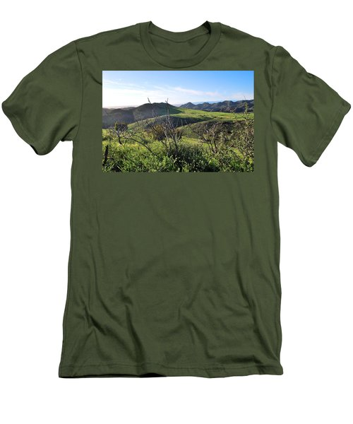 Men's T-Shirt (Athletic Fit) featuring the photograph Dynamic California Landscape by Matt Harang