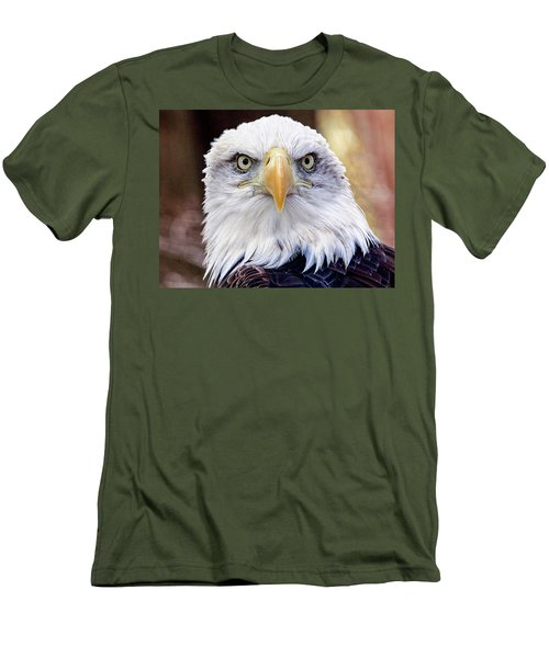 Eagle Eyes Men's T-Shirt (Athletic Fit)