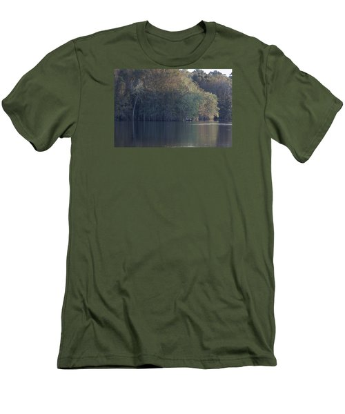 Early Morning Cove - Lake Marion Men's T-Shirt (Slim Fit) by Suzanne Gaff