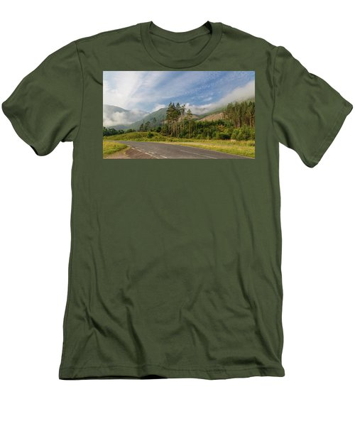 Early Morning Men's T-Shirt (Slim Fit) by Sergey Simanovsky