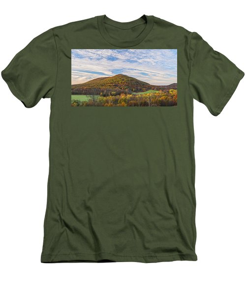 Early Morning Trestle Skies Men's T-Shirt (Athletic Fit)