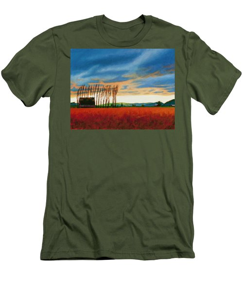 Early Spring, Skagit Valley Men's T-Shirt (Athletic Fit)