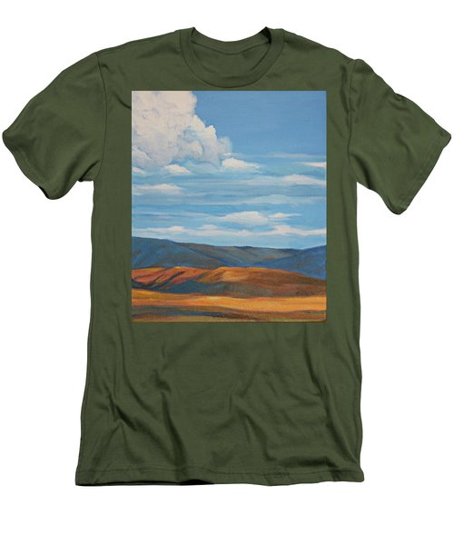 Early Summer Blue Hills Men's T-Shirt (Athletic Fit)