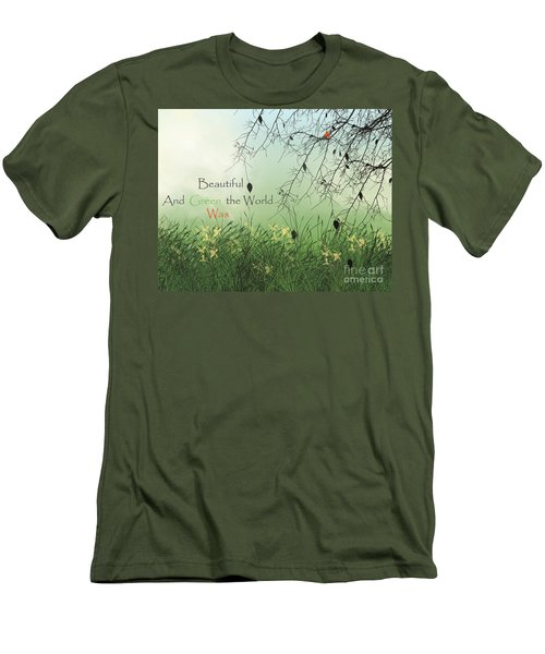 Earth Day 2016 Men's T-Shirt (Slim Fit) by Trilby Cole