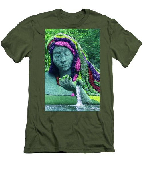Earth Goddess Men's T-Shirt (Athletic Fit)