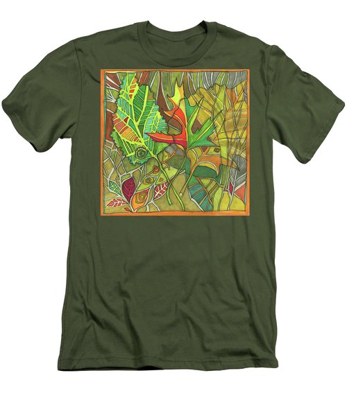Earth's Expression Men's T-Shirt (Athletic Fit)