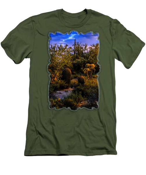 East Of Sunset V40 Men's T-Shirt (Slim Fit) by Mark Myhaver