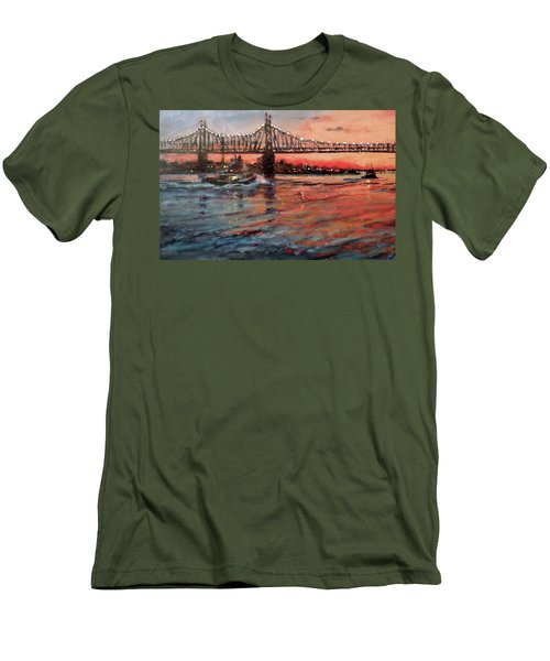 East River Tugboats Men's T-Shirt (Athletic Fit)