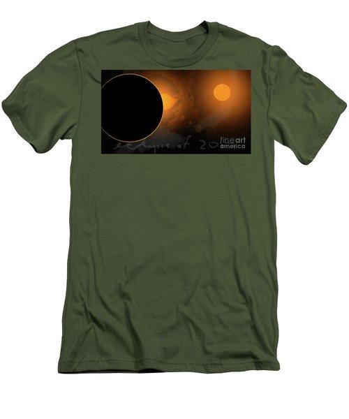 Eclipse Of 2017 W Men's T-Shirt (Athletic Fit)