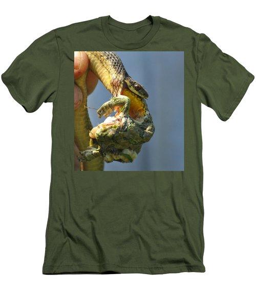 Ecosystem Men's T-Shirt (Slim Fit) by Lisa DiFruscio