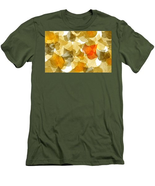 Edge Of Autumn Men's T-Shirt (Athletic Fit)