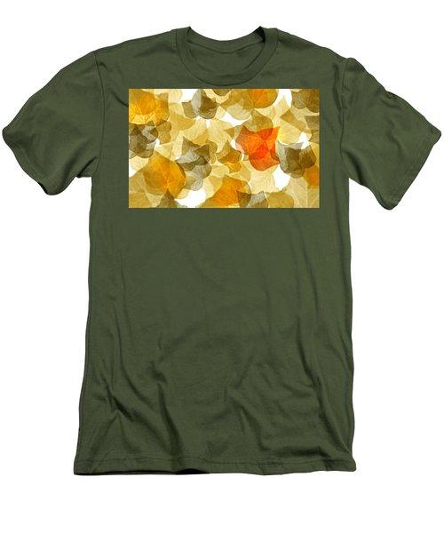 Edge Of Autumn Men's T-Shirt (Athletic Fit)