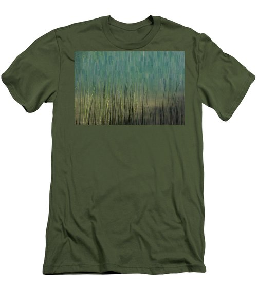 Edge Of The Lake - 365-262 Men's T-Shirt (Slim Fit) by Inge Riis McDonald