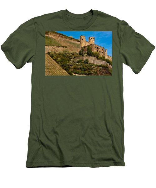 Ehrenfels Castle Ruin Men's T-Shirt (Athletic Fit)