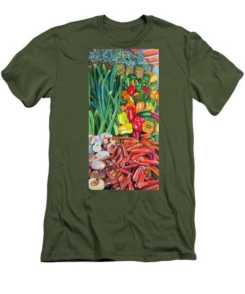 El Valle Market Men's T-Shirt (Slim Fit)