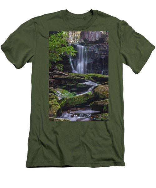 Elakala Falls Men's T-Shirt (Athletic Fit)
