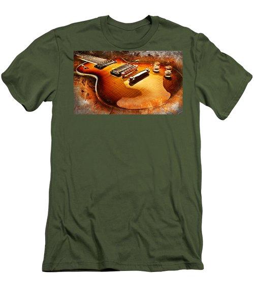 Electric Guitar Men's T-Shirt (Athletic Fit)