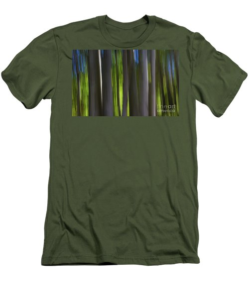 Electric Light  Men's T-Shirt (Athletic Fit)