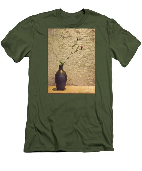 Elegant Still Life Men's T-Shirt (Slim Fit) by Shirley Mangini
