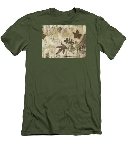 elements of autumn II Men's T-Shirt (Slim Fit) by Carolyn Doe