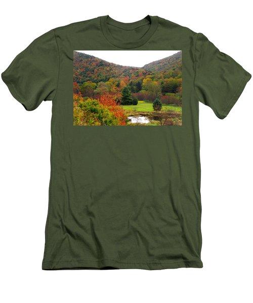Elk Country Pennsylvania Men's T-Shirt (Athletic Fit)