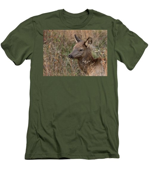 Elk Fawn Men's T-Shirt (Athletic Fit)