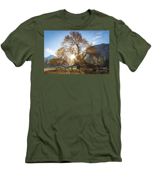 Elm Tree  Men's T-Shirt (Athletic Fit)