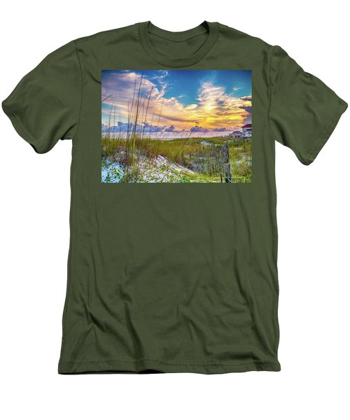 Emerald Coast Sunset Men's T-Shirt (Athletic Fit)