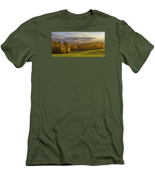 Empty Pasture - Cows Needed Men's T-Shirt (Athletic Fit)