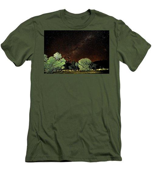 Emu Rising Men's T-Shirt (Slim Fit) by Paul Svensen