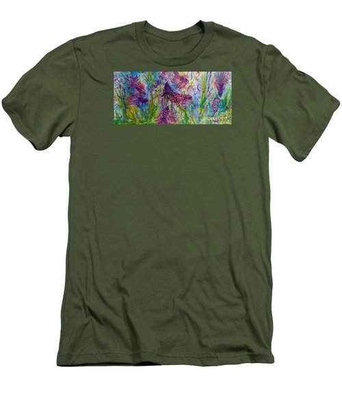 Enchanted Sealife Party Men's T-Shirt (Athletic Fit)