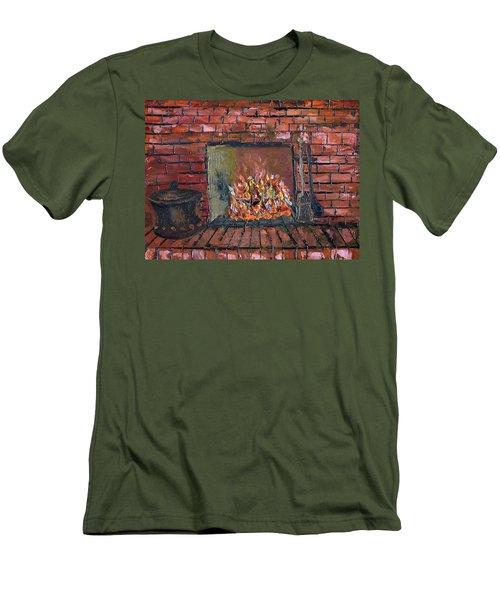 Enchanting Fire Men's T-Shirt (Slim Fit) by Michael Daniels