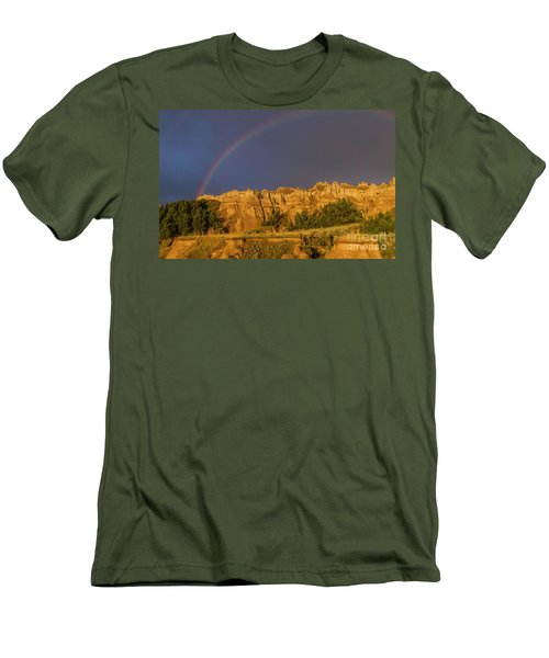 End Of The Rainbow Men's T-Shirt (Athletic Fit)