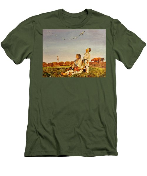 End Of The Summer- The Storks Men's T-Shirt (Athletic Fit)