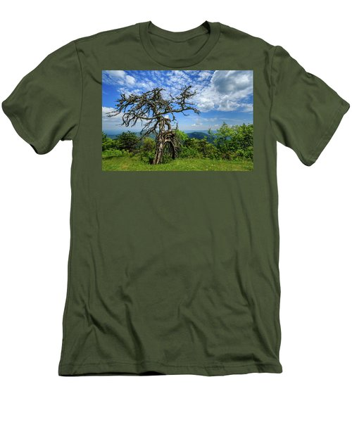 Ent At The Top Of The Hill - Color Men's T-Shirt (Slim Fit) by Joni Eskridge