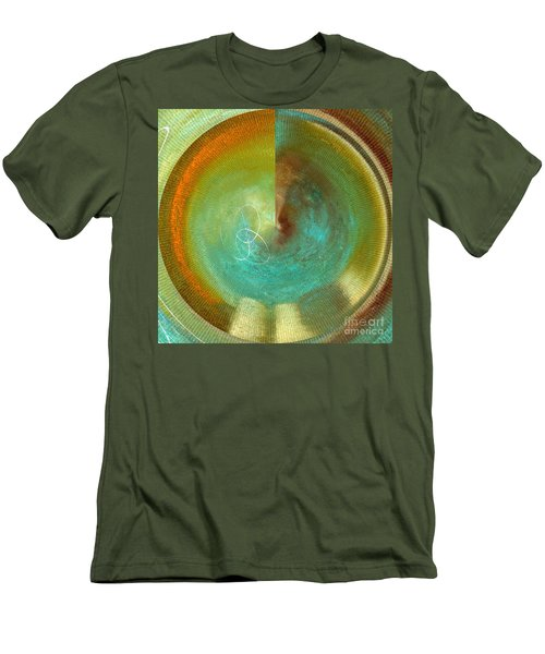 Eternity Polar Effect Men's T-Shirt (Slim Fit) by Saribelle Rodriguez