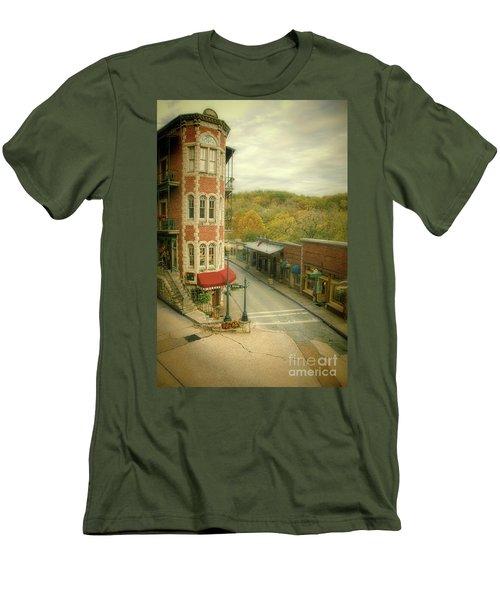 Men's T-Shirt (Slim Fit) featuring the photograph Eureka Springs by Jill Battaglia