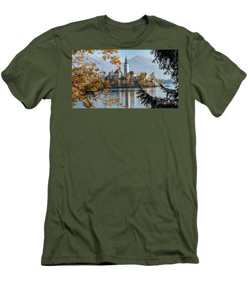 European Beauty Men's T-Shirt (Slim Fit) by Rod Jellison